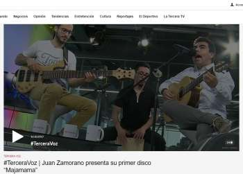 Entrevista a Juan Zamorano en Programa Tercera Voz de Latercera.com